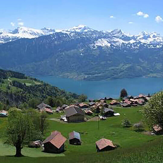 Beatenberg im Berner Oberland