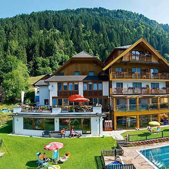 Vorschaubild zu Naturerlebnis Kinderhotel Hubertushof - Familienurlaub in Kärnten