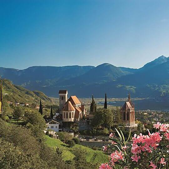 Schenna - Ein Südtiroler Dorf wie ein Gemälde