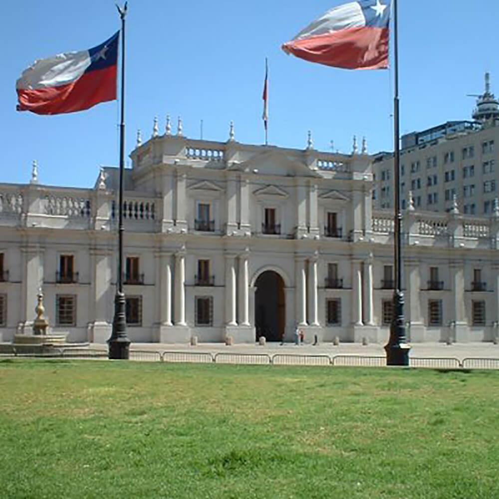 La Moneda - der chilenische Präsidentenpalast