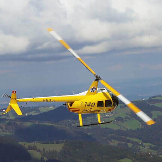 Valair Helikopter - St. Gallen / Altenrhein - FL - Zürich 10