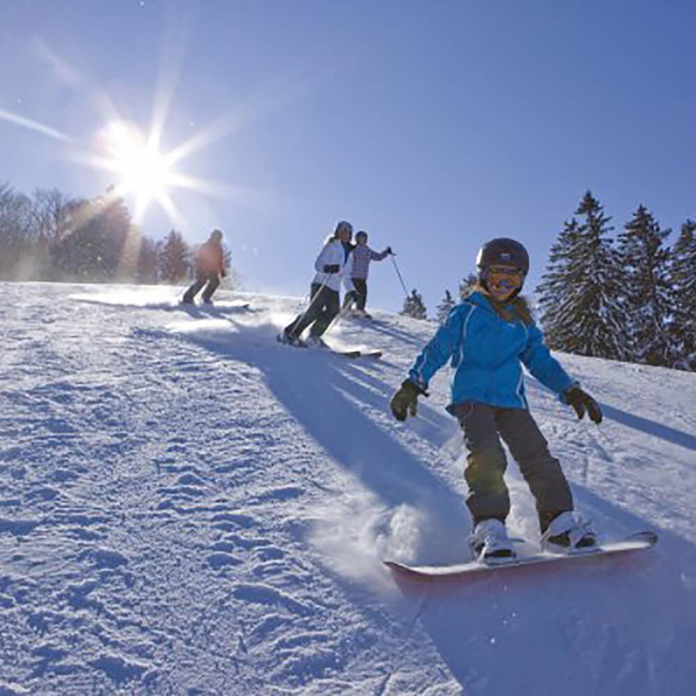 Atzmännig – das Skigebiet für Familien und Anfänger
