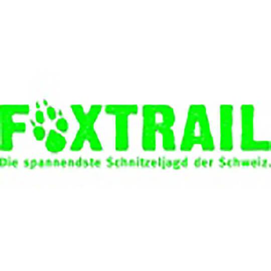 Logo zu Foxtrail - die spannendste Schnitzeljagd der Schweiz