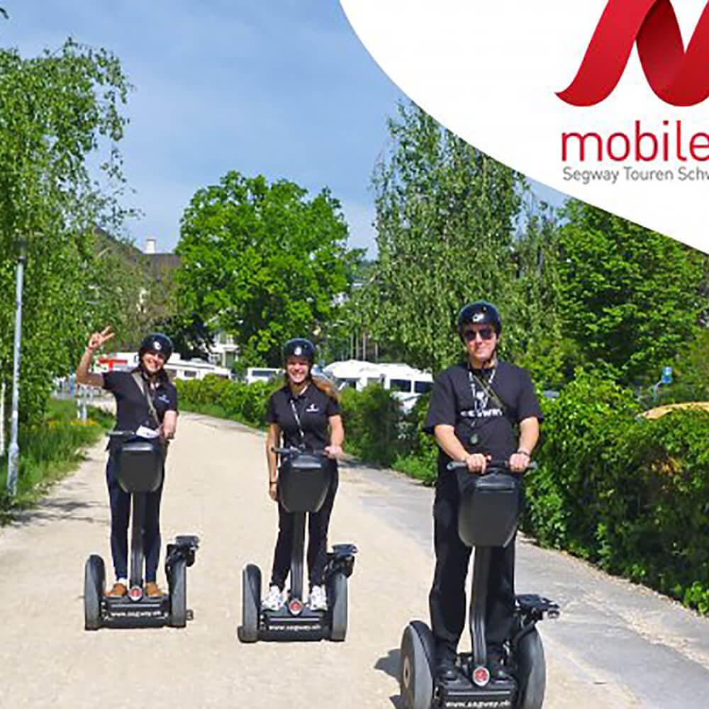 mobileo ist der neue Auftritt von Segway Touren Schweiz