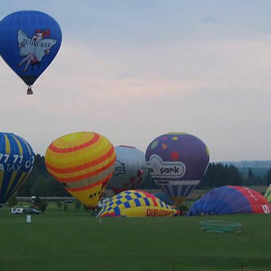 Ballonfahren mit Schweizer Meister Thedi Bolli