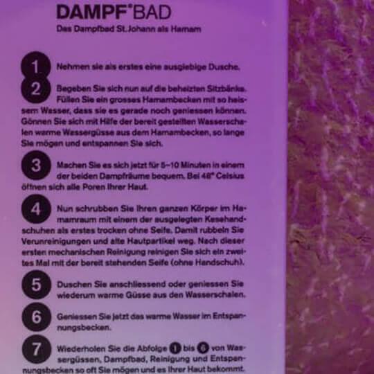 DAMPF°BAD Basel - Berührt die Sinne 10