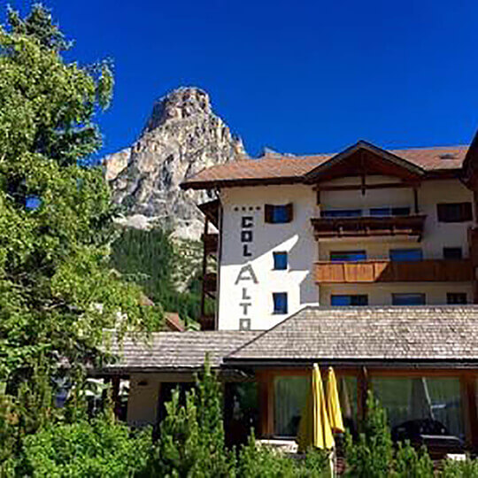 Hotel Col Alto Corvara in Badia - Ihr Hotel in den Dolomiten