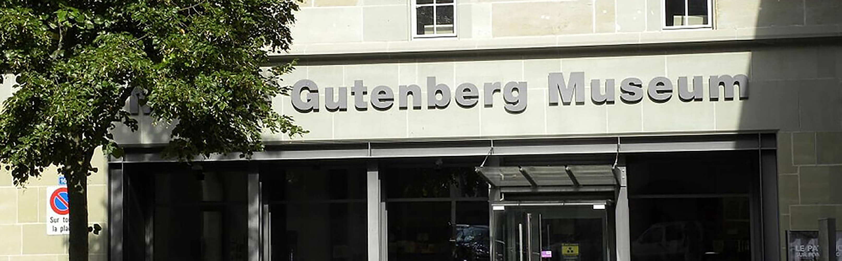 Gutenberg Museum in  Fribourg 1