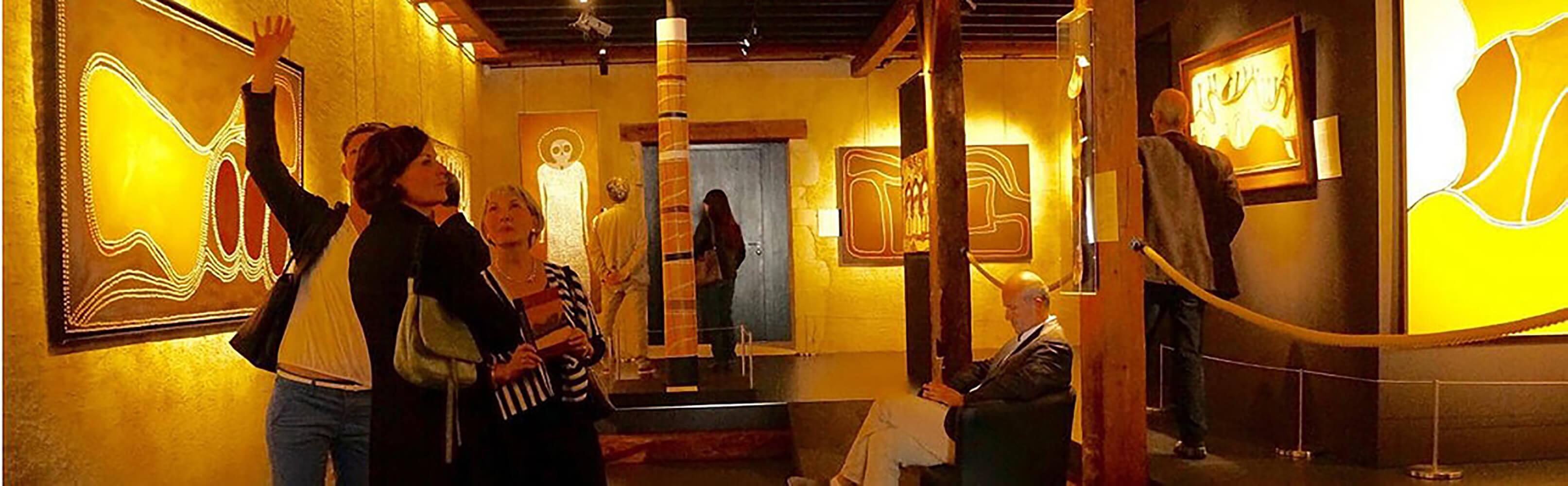 Musée d'art aborigène australien La grange Môtiers 1