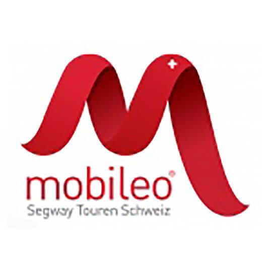 Logo zu mobileo ist der neue Auftritt von Segway Touren Schweiz