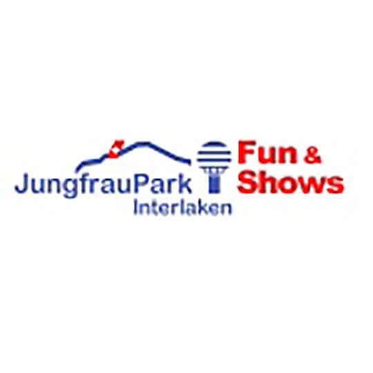 Logo zu JungfrauPark Interlaken – mehr Erleben, mehr Staunen