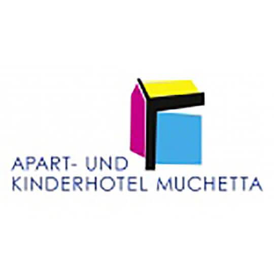 Logo zu Apart- und Kinderhotel Muchetta - Ferien für die ganze Familie