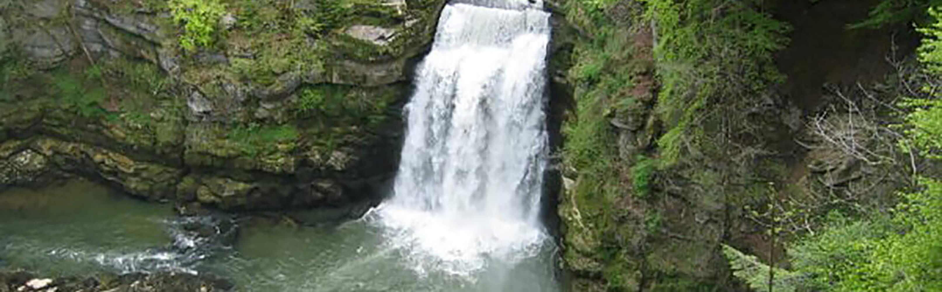 Doubs-Wasserfall Les Brenets