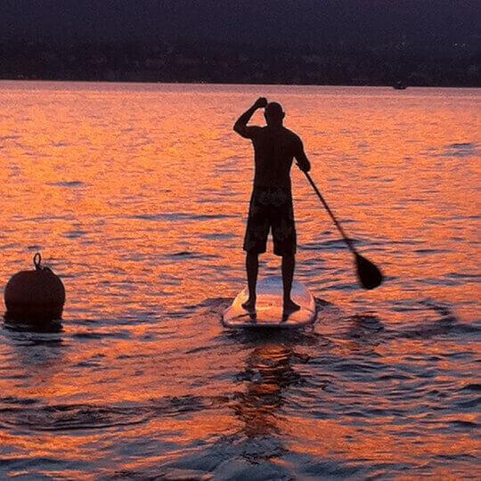 Stand Up Paddling - SUP auf Schweizer Seen: Zürichsee, Crestasee, Walensee u.a. 10
