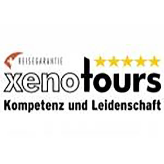 Logo zu Xenotours - der Reiseveranstalter mit Kompetenz und Leidenschaft