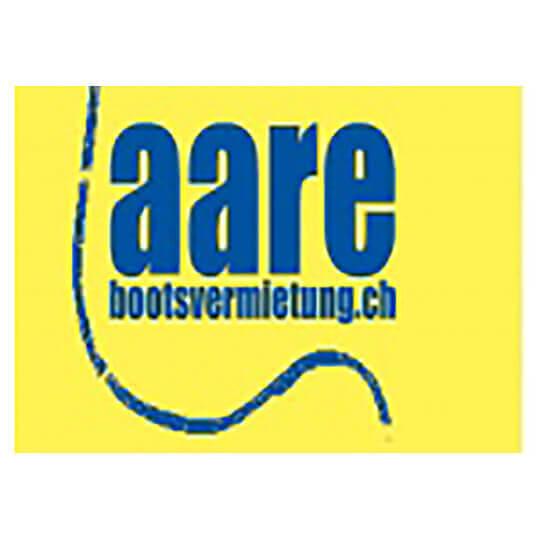 Logo zu Als eigener Flusskapitän auf der Aare, dem längsten Fluss der Schweiz