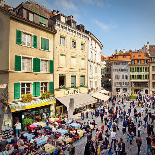 Lassen Sie sich von der bunten Vielfalt Lausannes verzaubern! 10