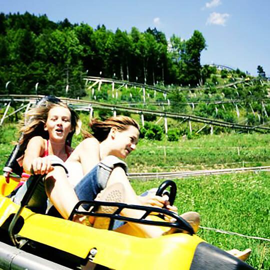 Vorschaubild zu Alwetterrodelbahn Alpin coaster