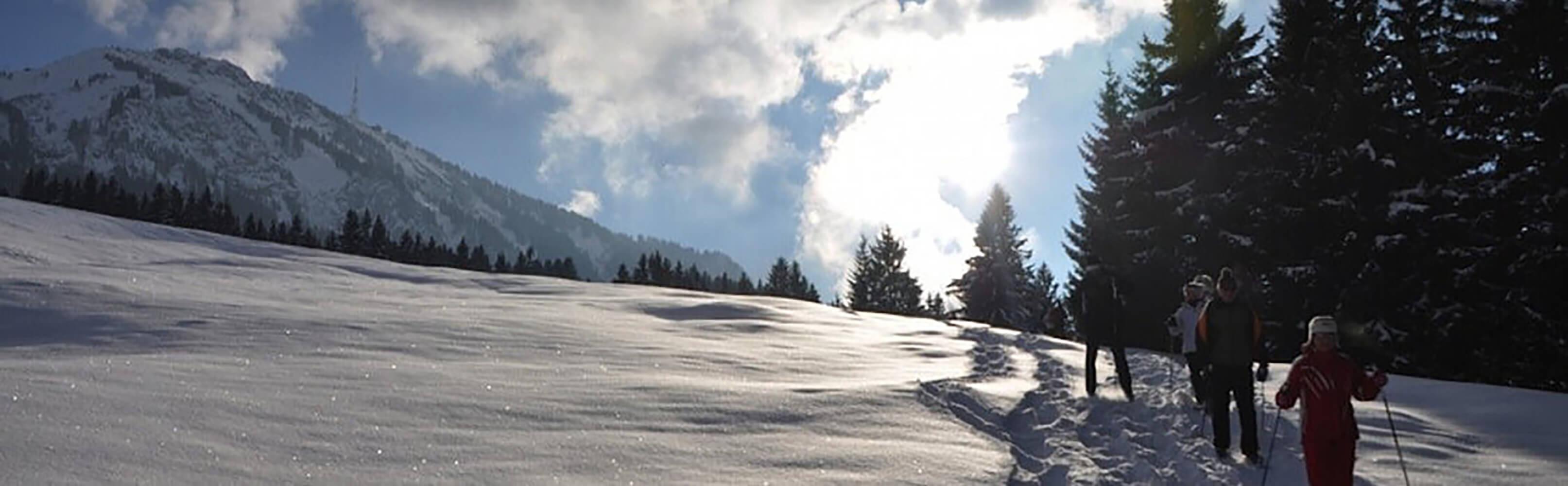 Schneeschuhwandern in Bayern 1