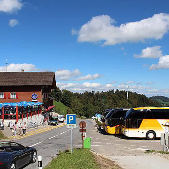 Hulfteggpass - Panorama-Restaurant ZH/SG/TG