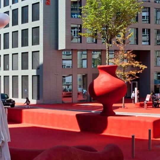 Roter Platz und Stadtlounge St. Gallen 10