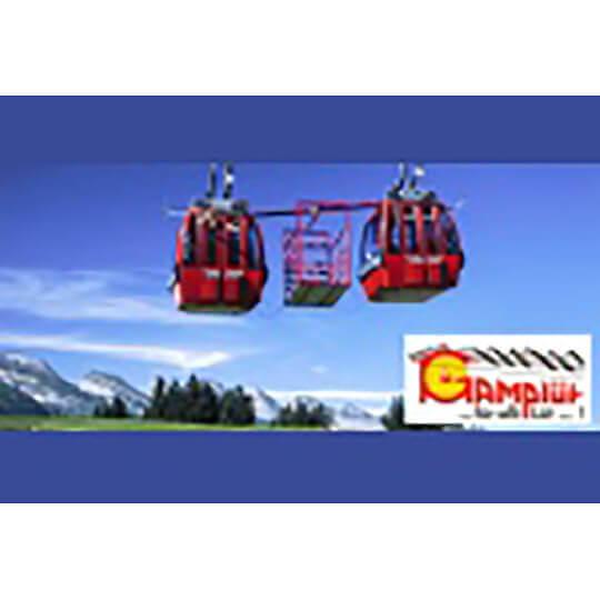 Logo zu Bergrestaurant und Bergbahn Gamplüt, Wildhaus/Toggenburg