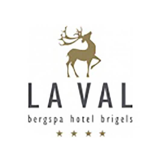 Logo zu Hotel LA VAL bergspa hotel brigels
