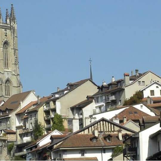 Historische Stadt Fribourg