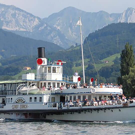 Vorschaubild zu Schifffahrt auf dem Zürichsee