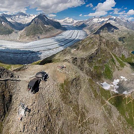 Vorschaubild zu Fiesch - Alpenlodge Kühboden - Gruppenhaus