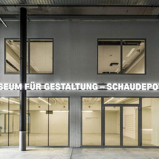 Museum für Gestaltung – Schaudepot 10