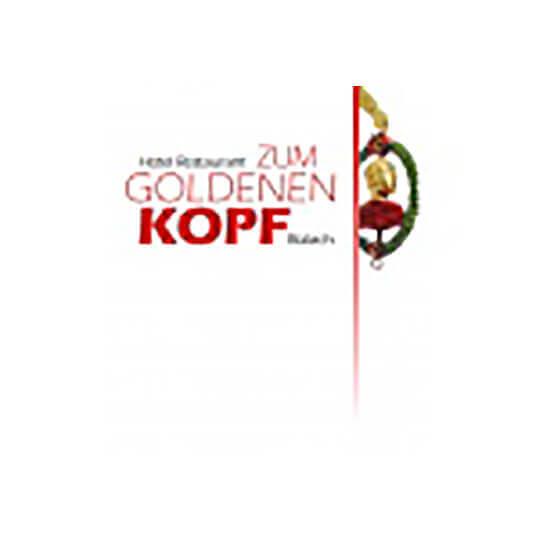 Logo zu Hotel Restaurant Zum Goldenen Kopf in Bülach bei Zürich -  Einer traditionsreichen Vergangenheit verbunden