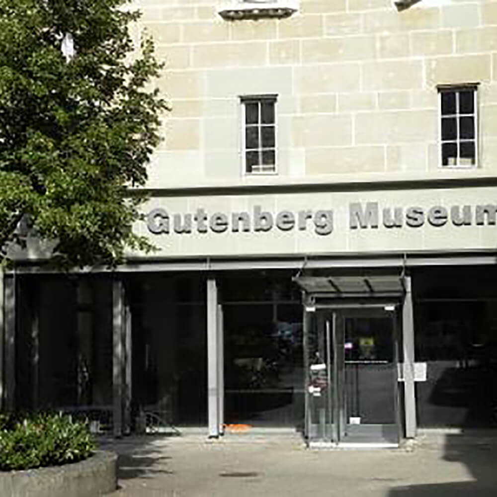 Gutenberg Museum in  Fribourg