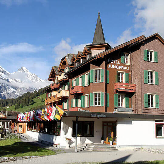 Hotel Jungfrau Mürren 10