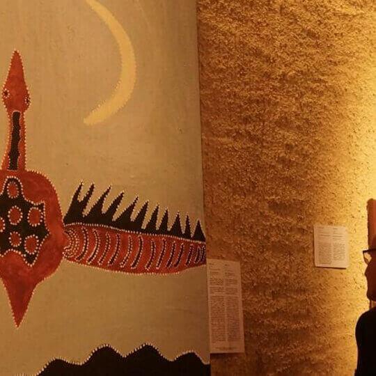 Musée d'art aborigène australien La grange Môtiers 10