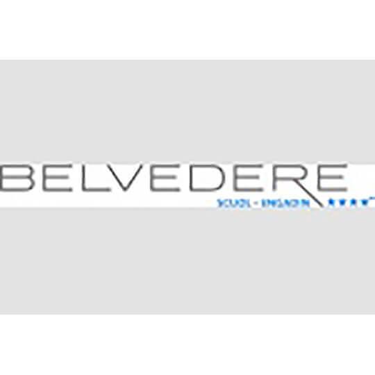 Logo zu Allegra und herzlich willkommen im Hotel Belvédère Scuol