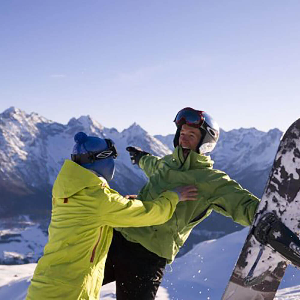 Skigebiet Scuol - Motta Naluns