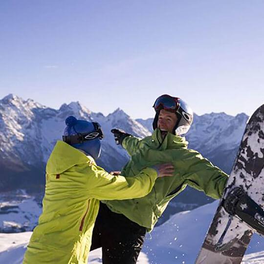 Vorschaubild zu Skigebiet Scuol - Motta Naluns