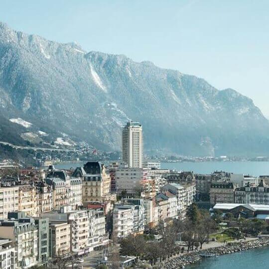Montreux an der Riviera des Genfersees 10