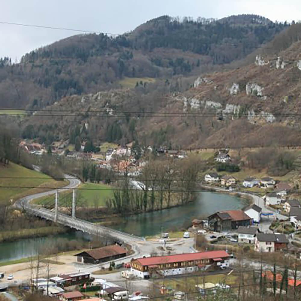 Ste-Ursanne Clos du Doubs