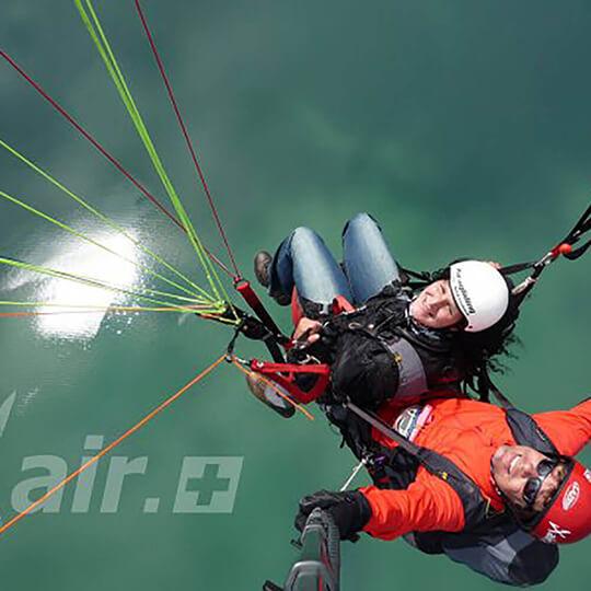 Vorschaubild zu Xair Gleitschirm Tandemflüge Zentralschweiz