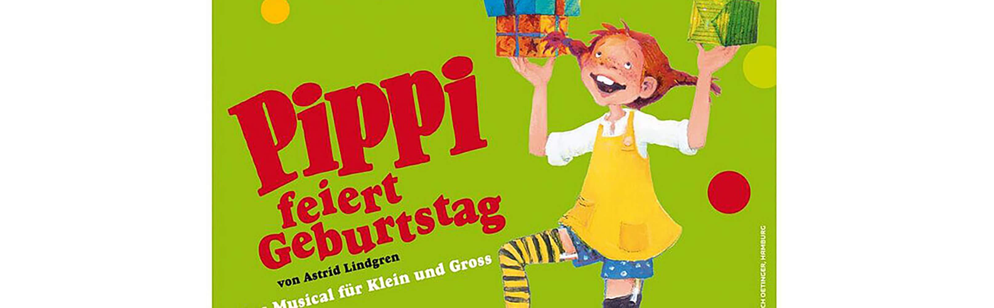 Winterthur - Pippi feiert Geburtstag - Kindermusical für Klein  und Gross! 1