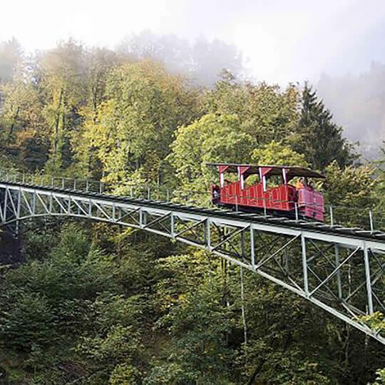 Vorschaubild zu Grimselwelt Reichenbachfall-Bahn