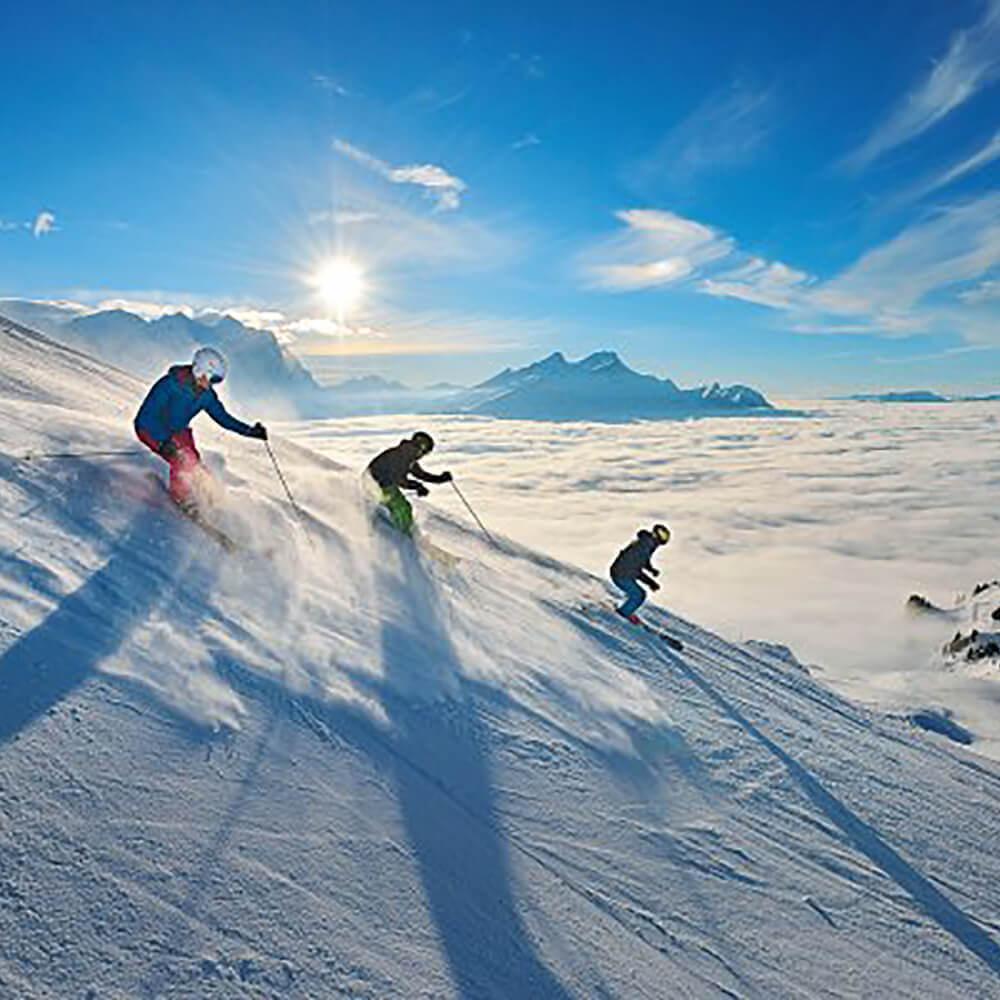 Meiringen-Hasliberg - Das Schneesportgebiet