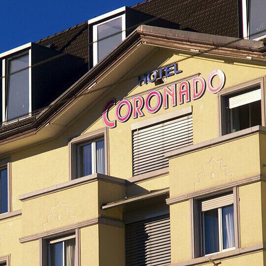 Hotel Coronado Zürich 10