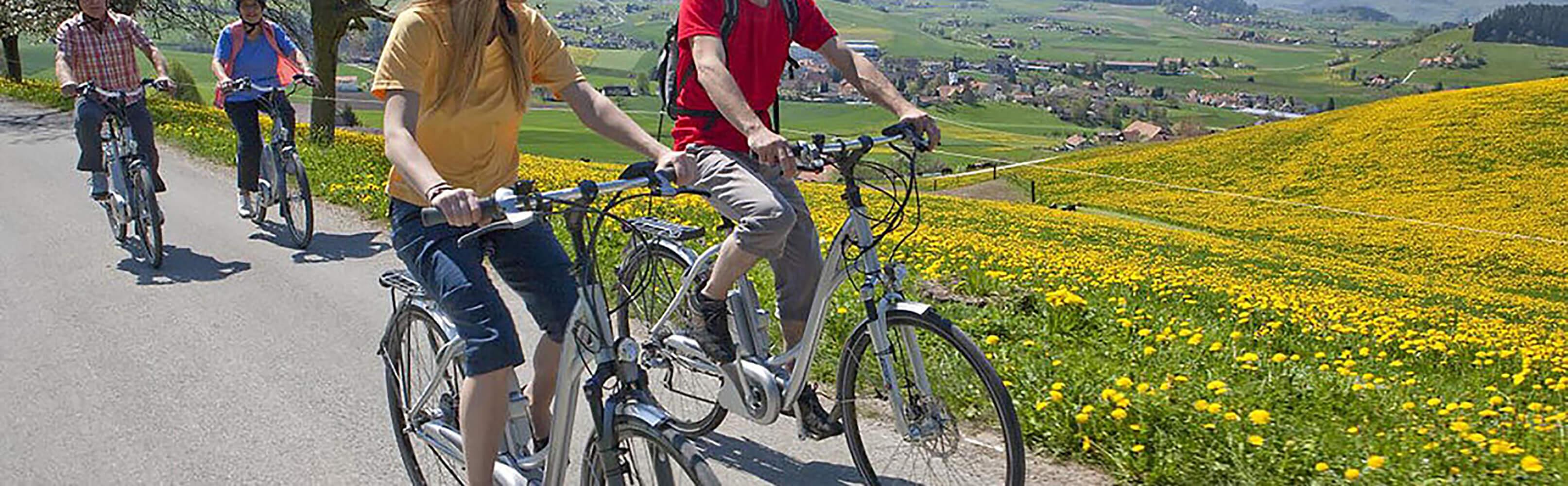 Wander- und Veloland Schweiz mit SwissTrails 1