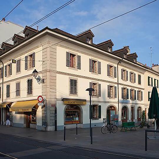 Vorschaubild zu Carouge –die savoyische Königsstadt bei Genf