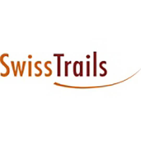 Logo zu Wander- und Veloland Schweiz mit SwissTrails