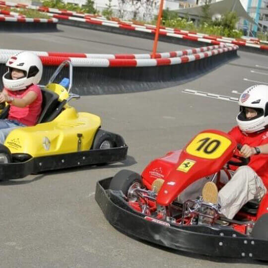 Swiss Holiday Park - Outdoor Kartbahn Morschach 11