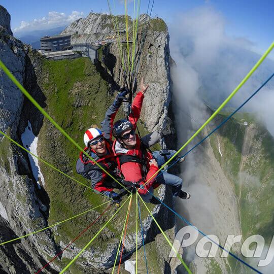 Gleitschirm Tandemflüge in der Zentralschweiz 10